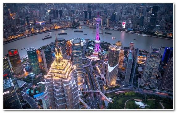 Image Cityscape City Metropolis Capital City Shanghai