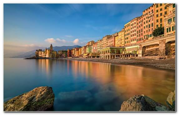 Image Cityscape City Tourism Evening Portofino