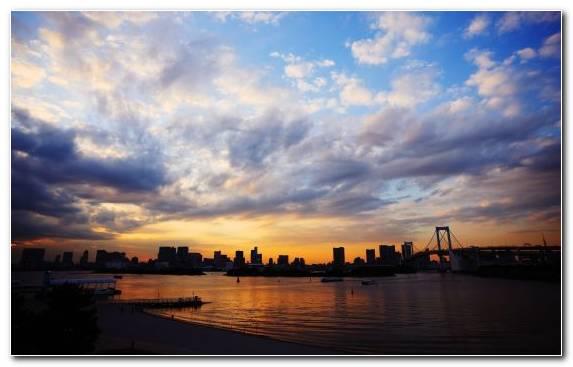 Image Cityscape Horizon Seattle Reflection Tokyo
