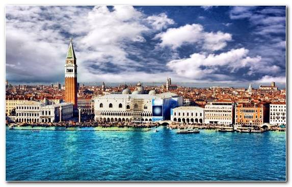 Image Cityscape Landmark Grand Canal Sky Tourist Attraction