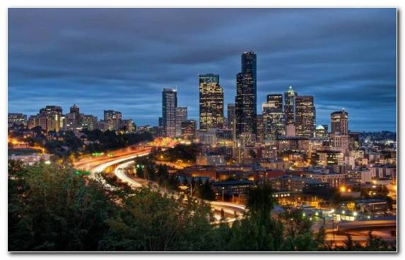 Image Cityscape Night Landmark Metropolis Urban Area