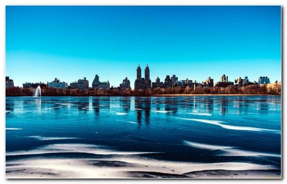 Image Cityscape Skyline Water Resources Horizon Central Park