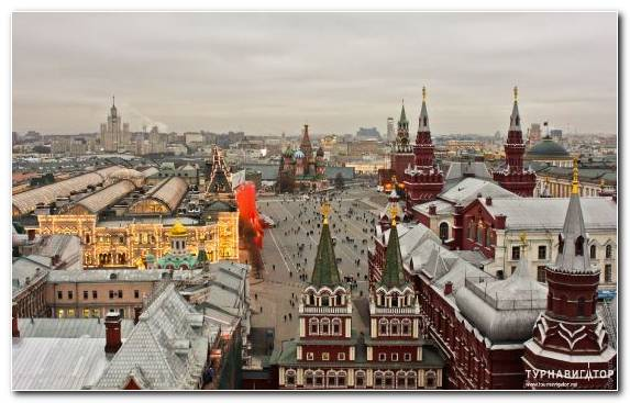 Image Cityscape Tourist Attraction Red Square Urban Area Moscow Kremlin