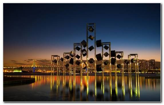 Image Cityscape Water Landmark Structure Night