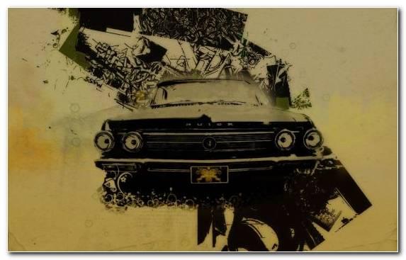 Image Classic Art Car Lowrider Family Car Vintage Car
