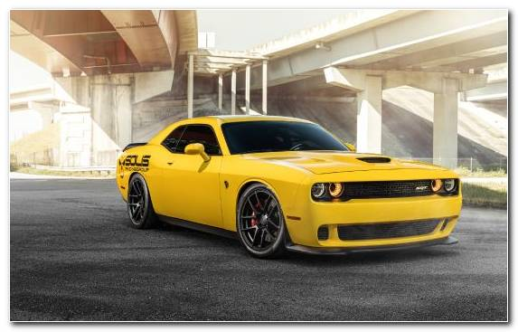Image Classic Car Dodge Hellcat Chevrolet Camaro Car