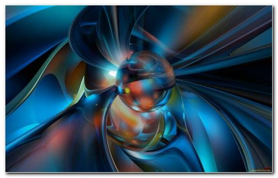 Image Close Up Symmetry Blue Electric Blue Fractal Art