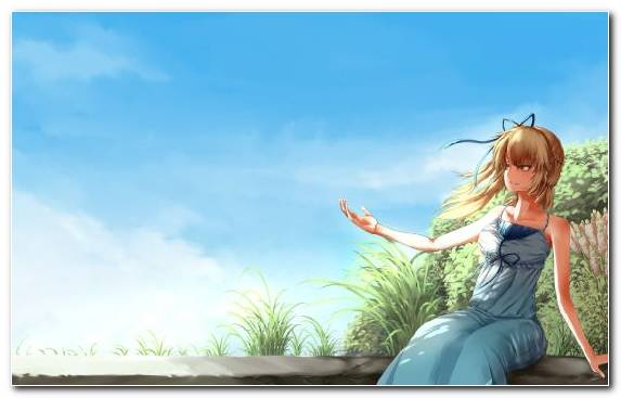 Image Cloud Fan Art Painter Wind Happiness