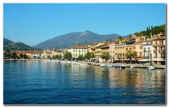 Image Coast Lake Marina Lake Garda Tourism