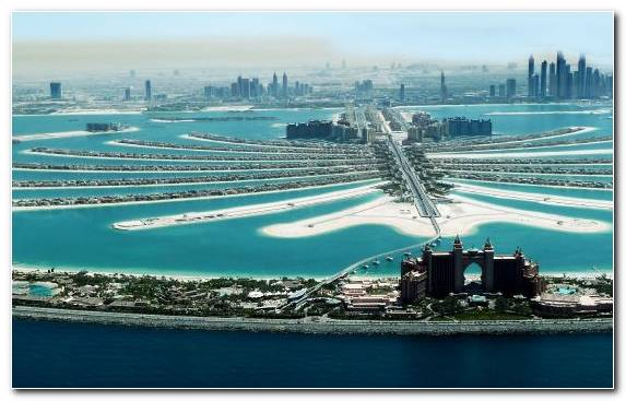Image Coastal And Oceanic Landforms Waterway Jumeirah Birds Eye View City