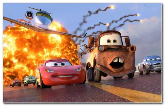 Image Compact Car City Car Pixar Cars Car