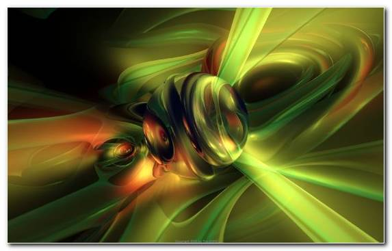 Image Computer Graphics Green Fractal Art Yellow Macro Photography