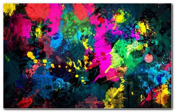 Image Contemporary Art Psychedelic Art Art Acrylic Paint Color