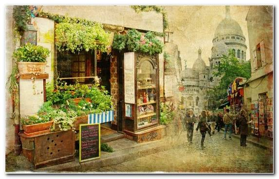Image Courtyard Paris Painting Work Of Art Art