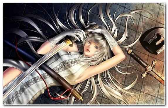 Image creative arts Fate Zero girl illustration art