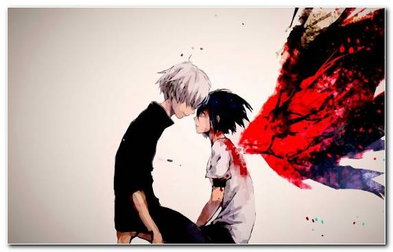 Image Creative Arts Man Interaction Anime Ghoul