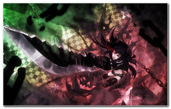 Image Dark Fiction Space Black Rock Shooter Visual Effects