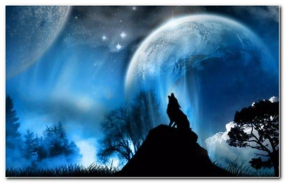 Image Dark Sky Moonlight Atmosphere Of Earth Fantasy