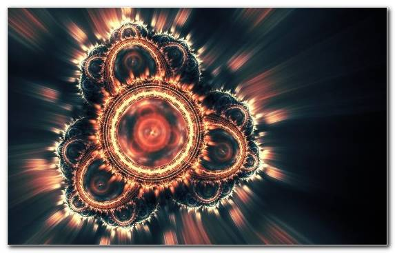 Image Dark Special Effects Ornament Symmetry Circle