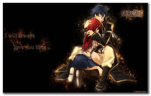 Image Darkness Fairy Erza Scarlet Night Fairy Tail