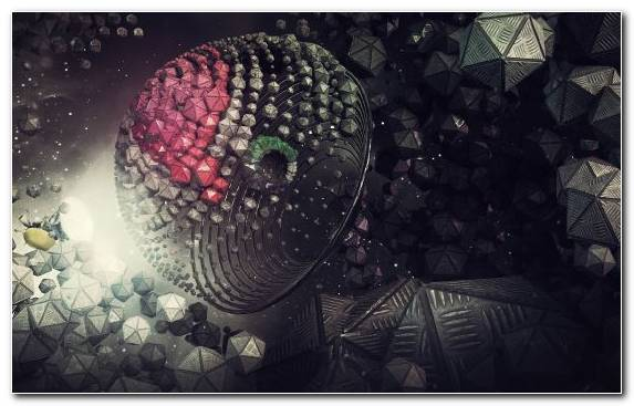 Image Darkness Fractal Art Transfer Abstract Art Sphere