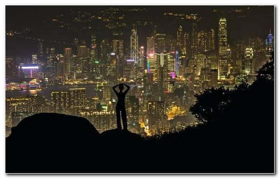 Image Darkness Urban Area Skyscraper Metropolis Cityscape