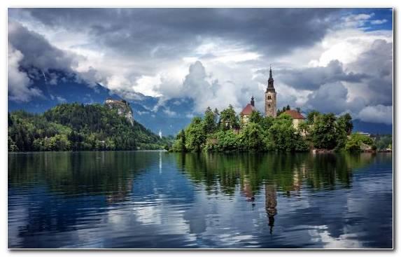 Image Daytime Waterway Nature Cloud Lake