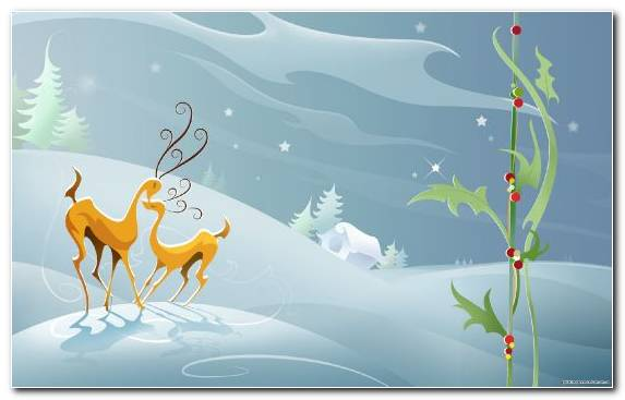 Image Deer Cartoon Christmas And Holiday Season Creative Arts Holiday