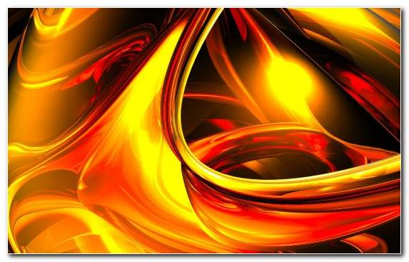 Image Digital Art Yellow Fire Flame Fractal Art