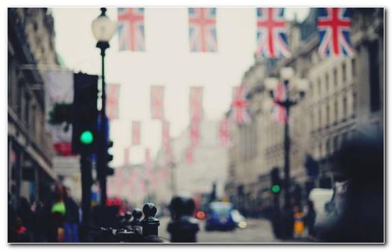 Image Downtown Bokeh Pedestrian City Capital City