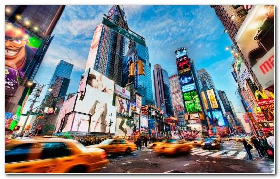 Image Downtown Times Square Landmark Urban Area Tourism