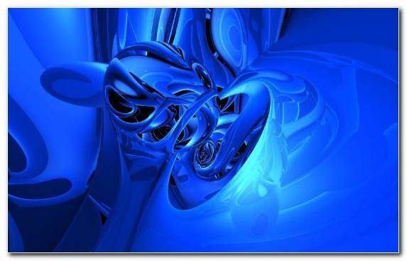 Image Electric Blue Azure Cobalt Blue Blue Fractal Art