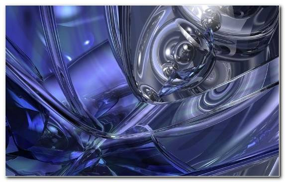 Image Electric Blue Fractal Art Graphics Wheel Blue