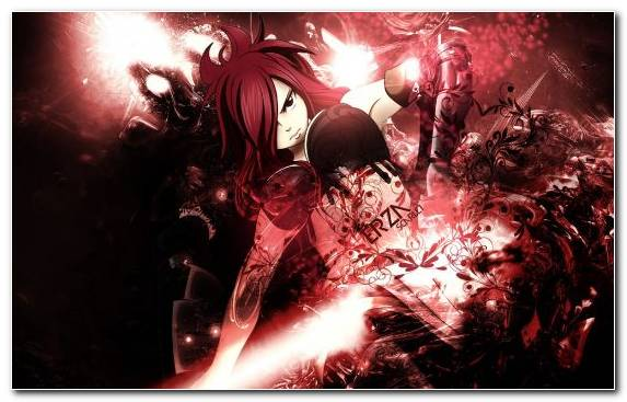Image Erza Scarlet Natsu Dragneel Darkness Fairy Tail Space