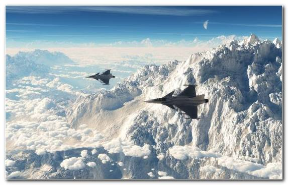 Image Eurofighter Typhoon Aviation Mountains Dassault Rafale Saab Jas 39 Gripen