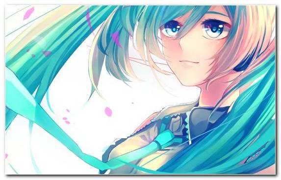 Image Eye Kaito Megpoid Anime Blue