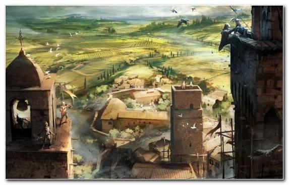 Image Ezio Auditore Video Games Assassins Creative Arts Painting