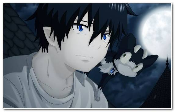 Image Fan Art Blue Exorcist Poster Manga Sky