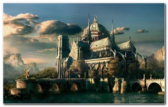 Image Fantastic Art Building World Tourist Attraction Castle