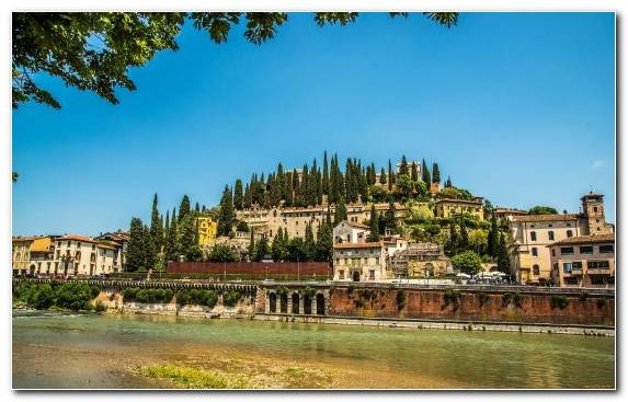 Image Farmhouse Verona River Palace Town