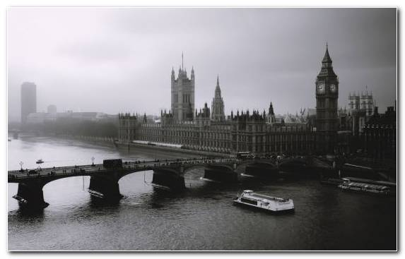Image Farmhouse Palace Of Westminster Cityscape House River Thames