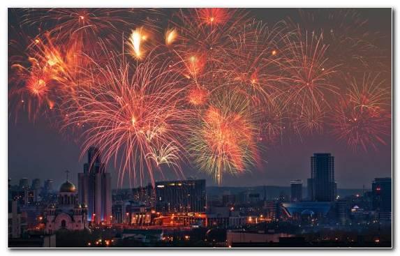 Image Festival Horizon New Years Eve Metropolis Fireworks