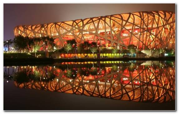 Image Festival Olympic Stadium Architect Reflection Tourist Attraction