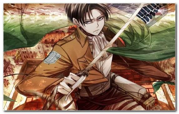 Image Fiction Fan Art Attack On Titan Illustration Levi