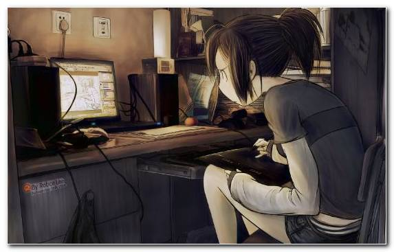Image Fiction Girl Electronic Device Furniture