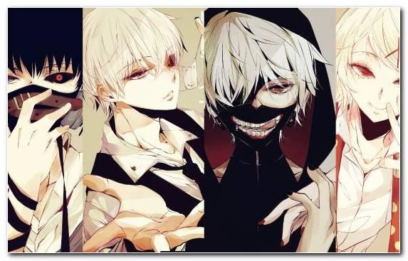 Image Fiction Hime Cut Tokyo Ghoul Fictional Character Ken Kaneki