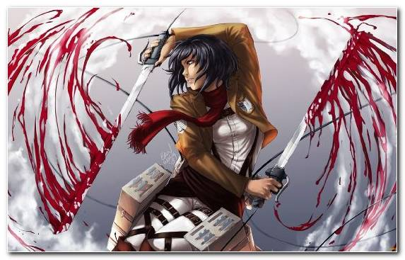 Image Fictional Character Levi Illustration Art Blood