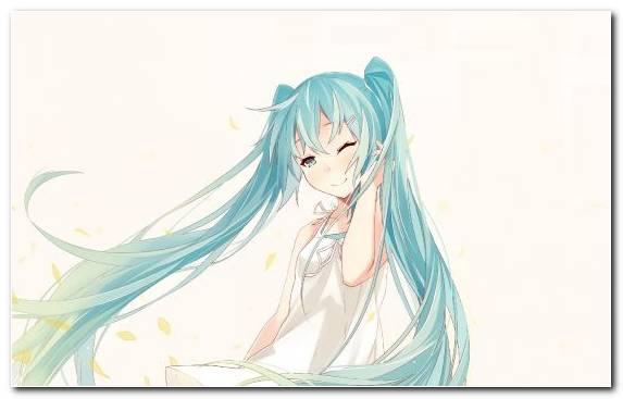 Image Fictional Character Art Hatsune Miku Vocaloid Girl