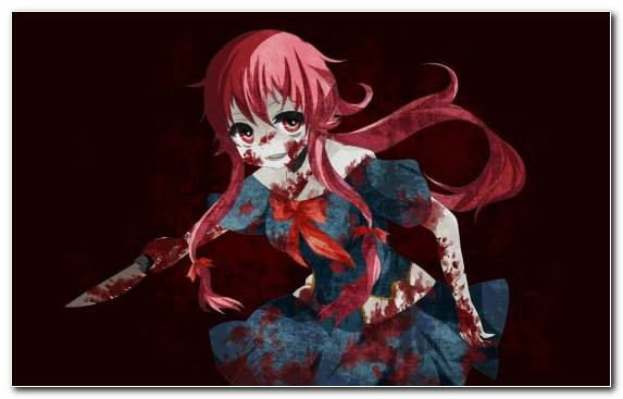 Image Fictional Character Art Mythical Creature Fiction Yuno Gasai