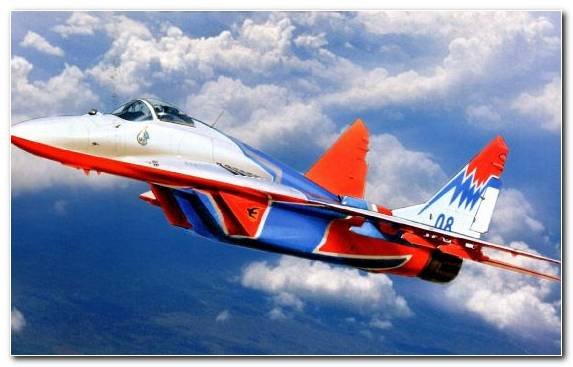Image fighter aircraft air force aviation general aviation mikoyan mig 29